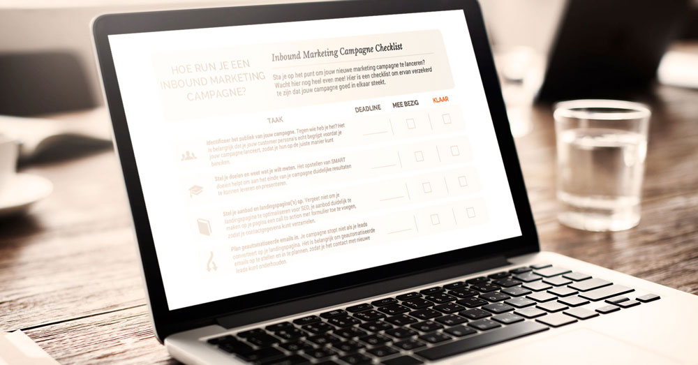 marketing campagne checklist - another concept